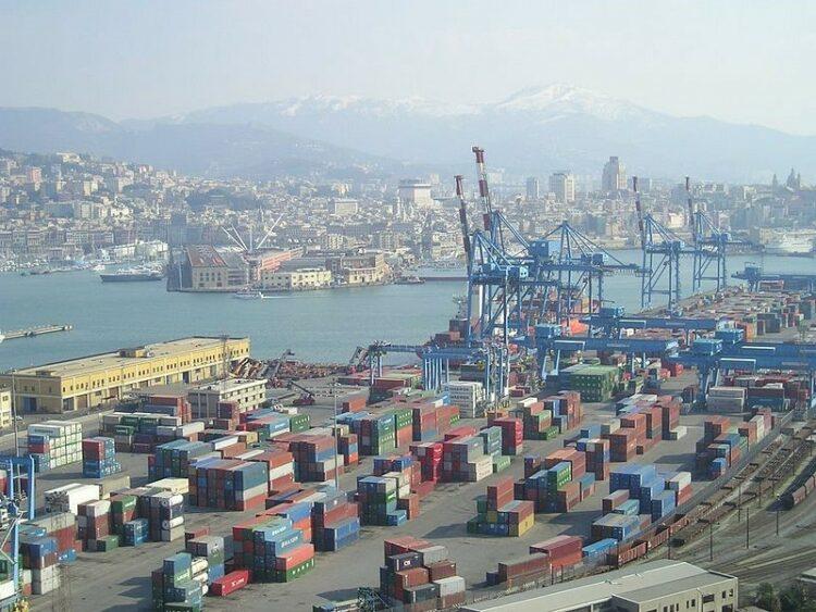 Photo: Genoa Port