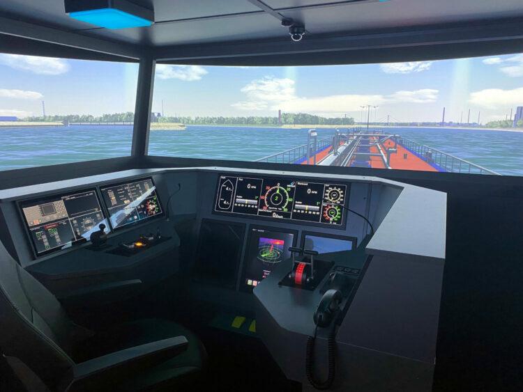 """SANDRA II"" simulator. Photo: HGK"
