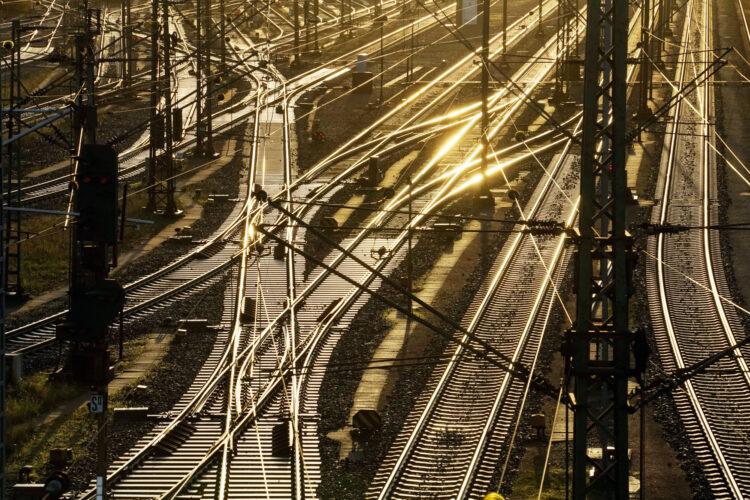 Few trains today. Symbolic photo: Deutsche Bahn