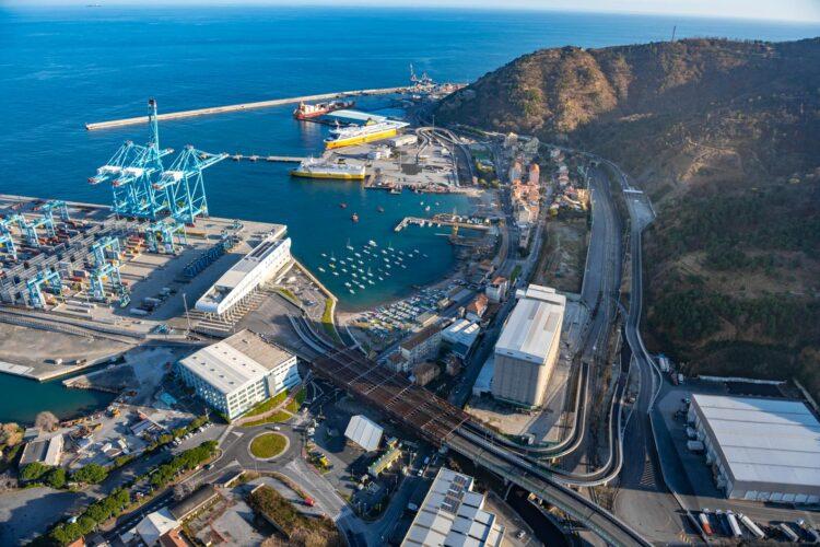 The port of Savona