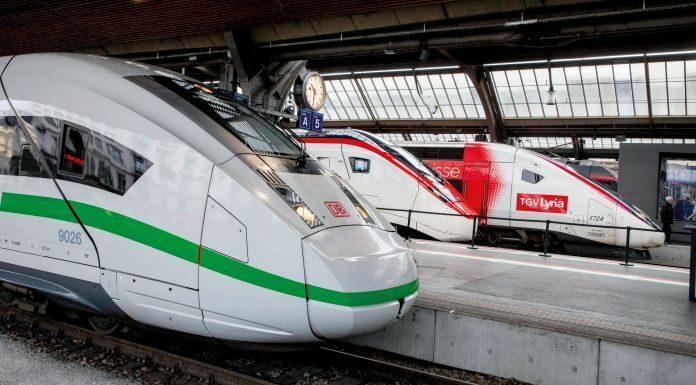 Improved through traffic Germany – Switzerland ©SBB/Gian Vaitl