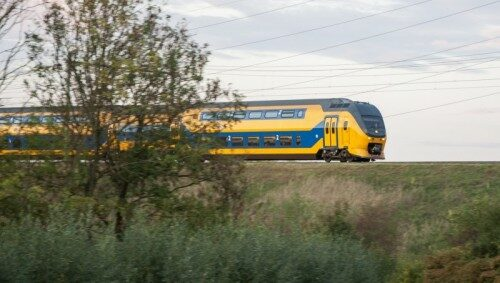 Increased train frequency tested in the Netherlands. Photo: NS