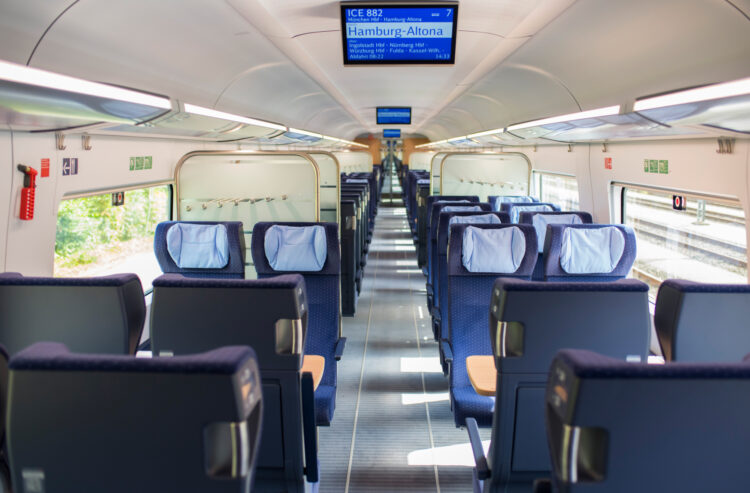More trains and more seats from December. Photo: Deutsche Bahn