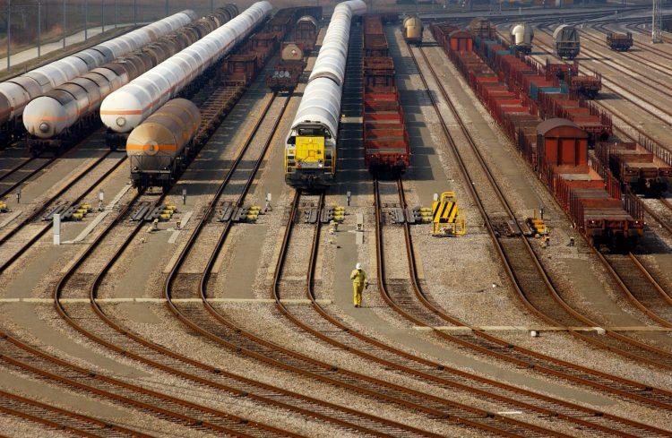 Rail transport (c)Port of Antwerp